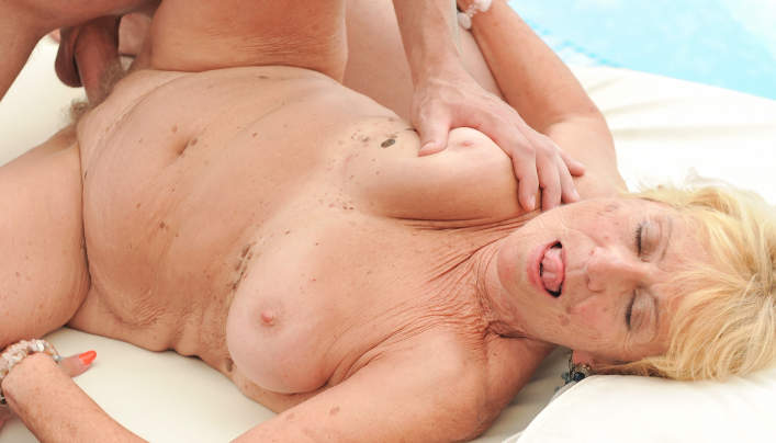 image Lovely gilf banged after playing with toys